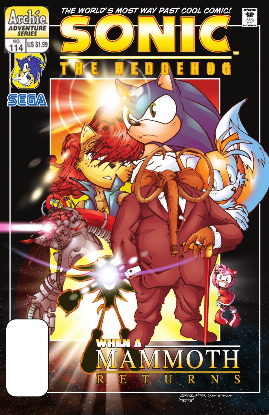 Archie Sonic the Hedgehog Issue 114