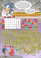 Sonic the Hedgehog Puzzle Book 1 - page 7