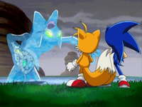 Ep28 Sonic and Tails vs Chaos 4