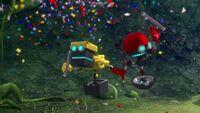SB S1E22 Cubot Orbot confetti