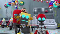 SB S1E10 Eggman erase memory Cubot Orbot