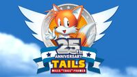 Tails 25th logo