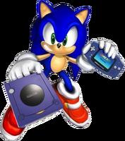 GCN GBA Sonic 2001