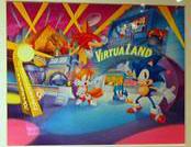 SegaWorld1995Calendar VirtuaLandArt