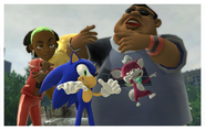 Sonic Unleashed - Rappers