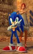 Sonic y Elise