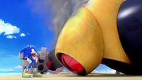 SB S1E19 Sonic defeats Giant Robot