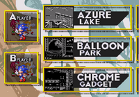 Sonic 3 Competition screen 3