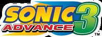 Sonic Advance 3 EN logo