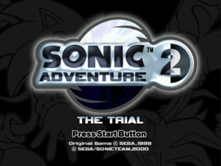 Sonic Adventure 2: The Trial