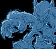 Sonic Channel wallpaper Werehog
