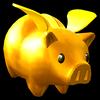 Sonic Runners Golden Piggy Bank