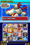 Sonic and Sega All Stars Racing DS character select 07