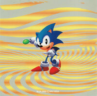 Sonic Remix booklet back