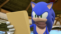SB S1E09 Sonic check messages