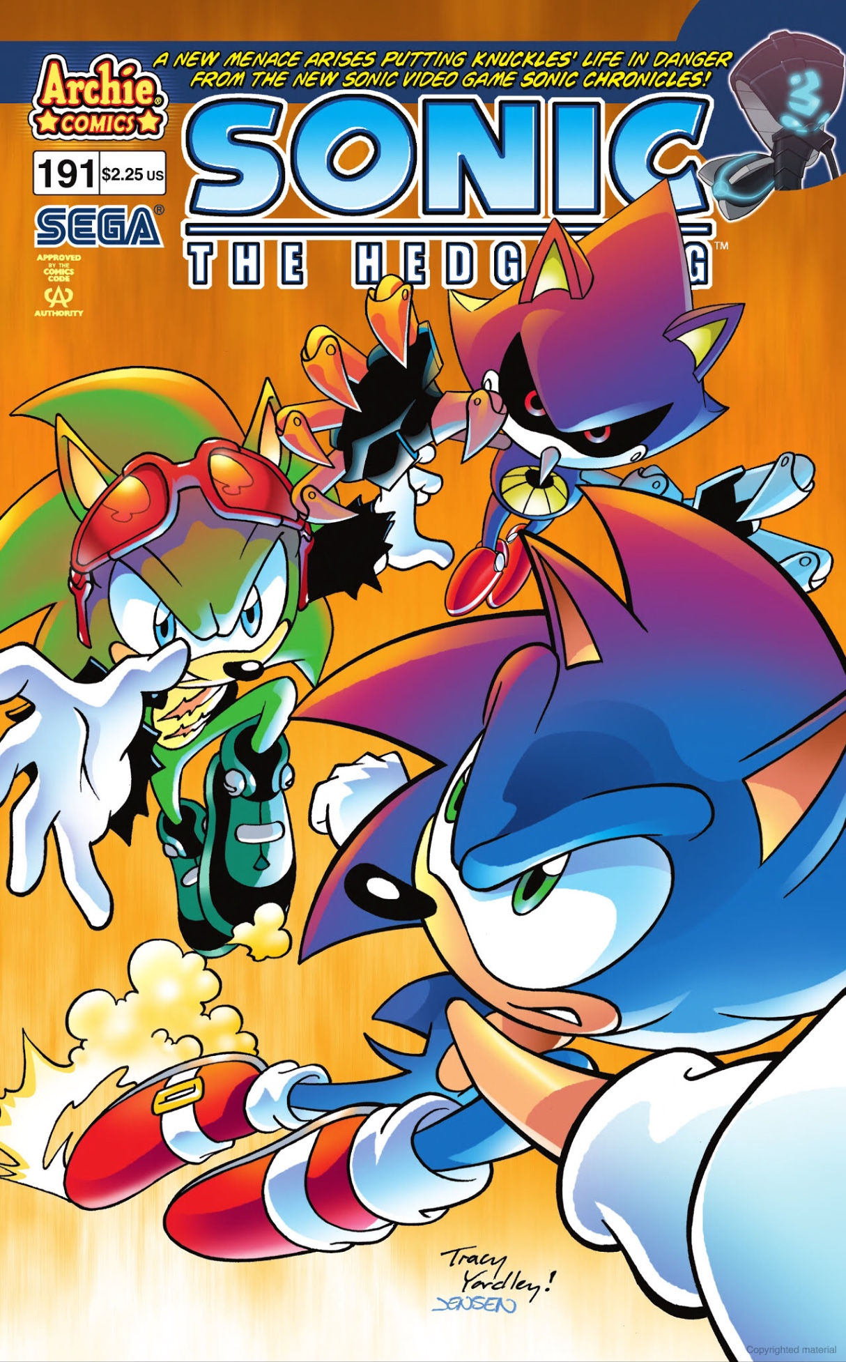 Archie Sonic the Hedgehog Issue 191