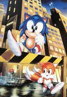 Sonic 1993 Calendar - September October