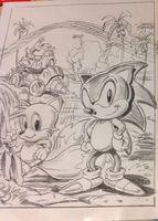 Sonic the Hedgehog 2 US artwork concept