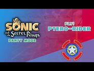 Fly! Ptero-Rider - Sonic and the Secret Rings (Party Mode)