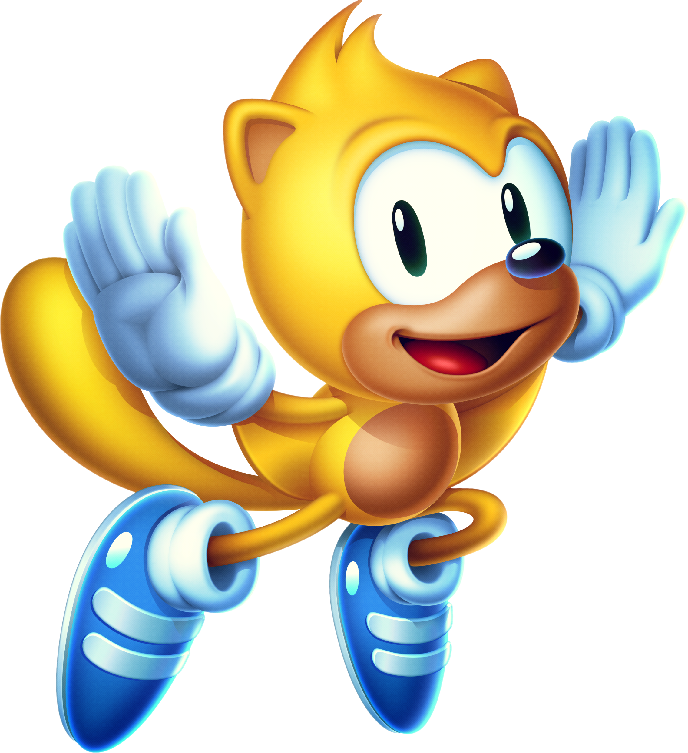 Ray the Flying Squirrel (Classic Sonic's world)