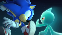 Sonic and the Cyan Wisp