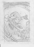 Knuckles' Chaotix box concept