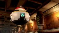 S1E22 Eggman Eggmobile temple
