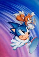 Sonic Chaos Prototype US Artwork