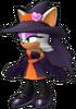 Sonic Runners Halloween Rouge model