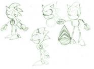 Metal Sonic CD concepts