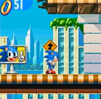 Sonic X Leapster Goal Plate