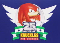 Knuckles 25th logo