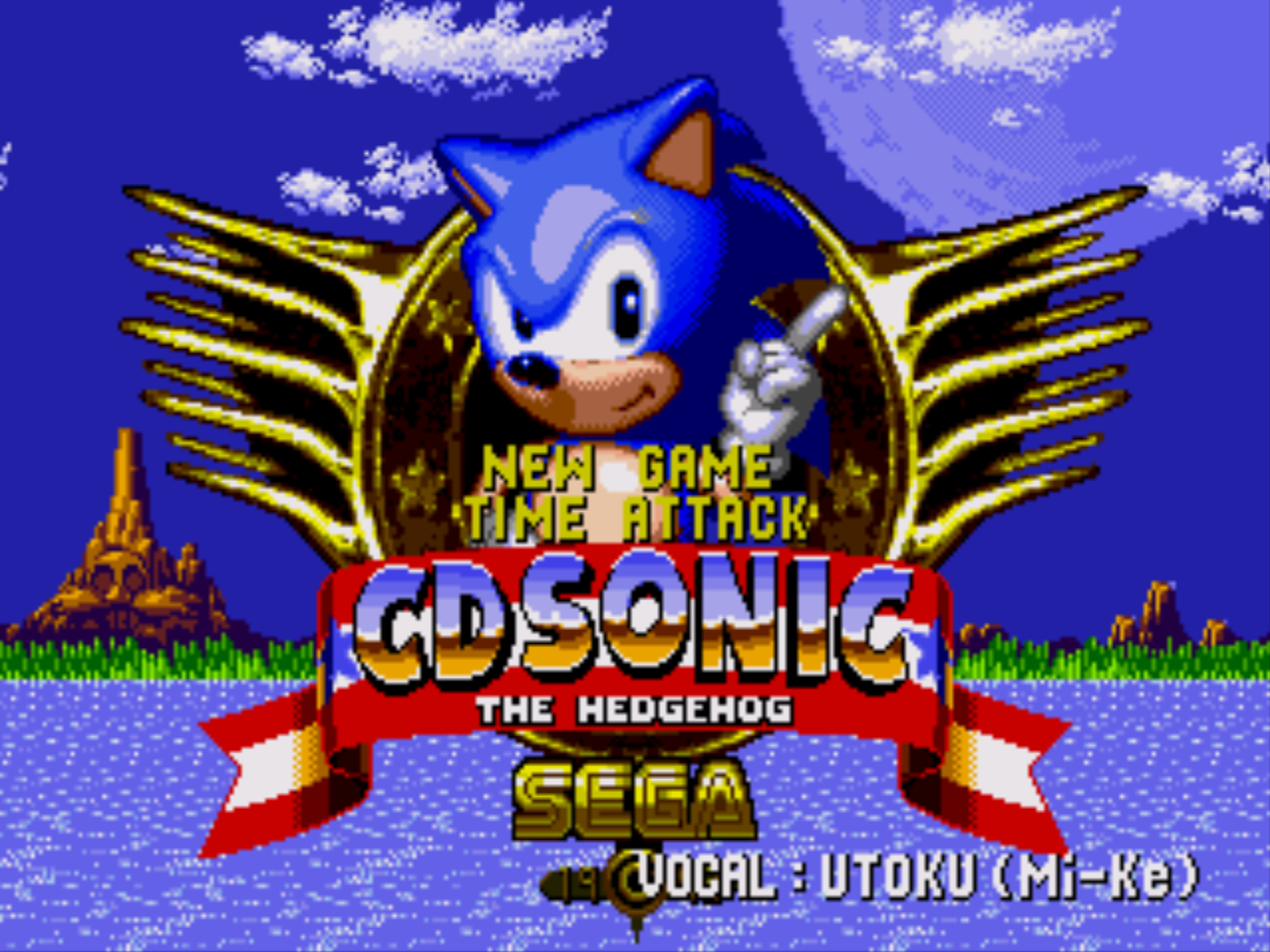 Sonic the Hedgehog CD (версия 0.02)