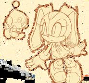 Sonic Channel wallpaper Cream 2