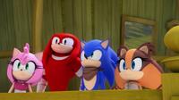 SB S1E40 Team Sonic looking