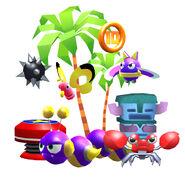 Sonic-Runners-Adventure-Items-&-Badniks