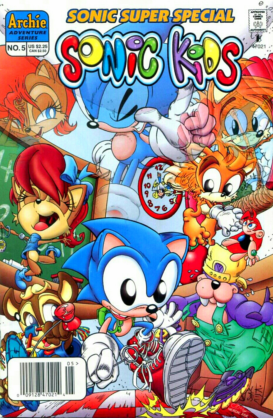 Archie Sonic Super Special Issue 5