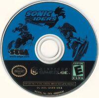 SonicRiders GCN US Disc