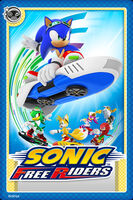 Sonic Free Riders Card