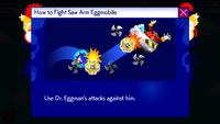 Sonic Runners Saw Arm Eggmobile