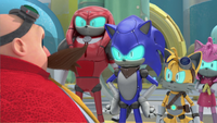 Team Cybonic and Eggman