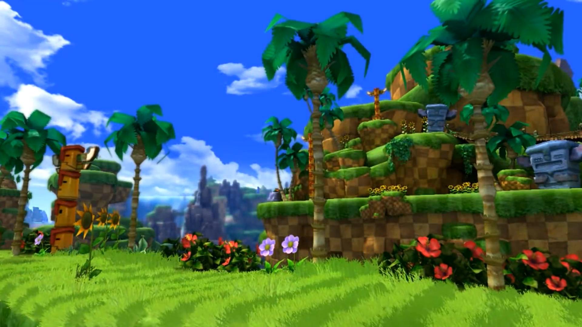 Green Hill Zone (Classic Sonic's world)