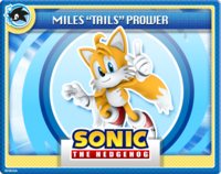 """Miles """"Tails"""" Prower Online Card"""