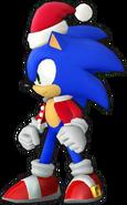 Sonic Runners christmas Sonic