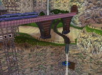 SA1 - Mystic Ruins train station (night)