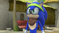 SB S1E44 Hipster Sonic surprised