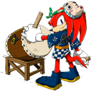 Knuckles - Sonic Channel