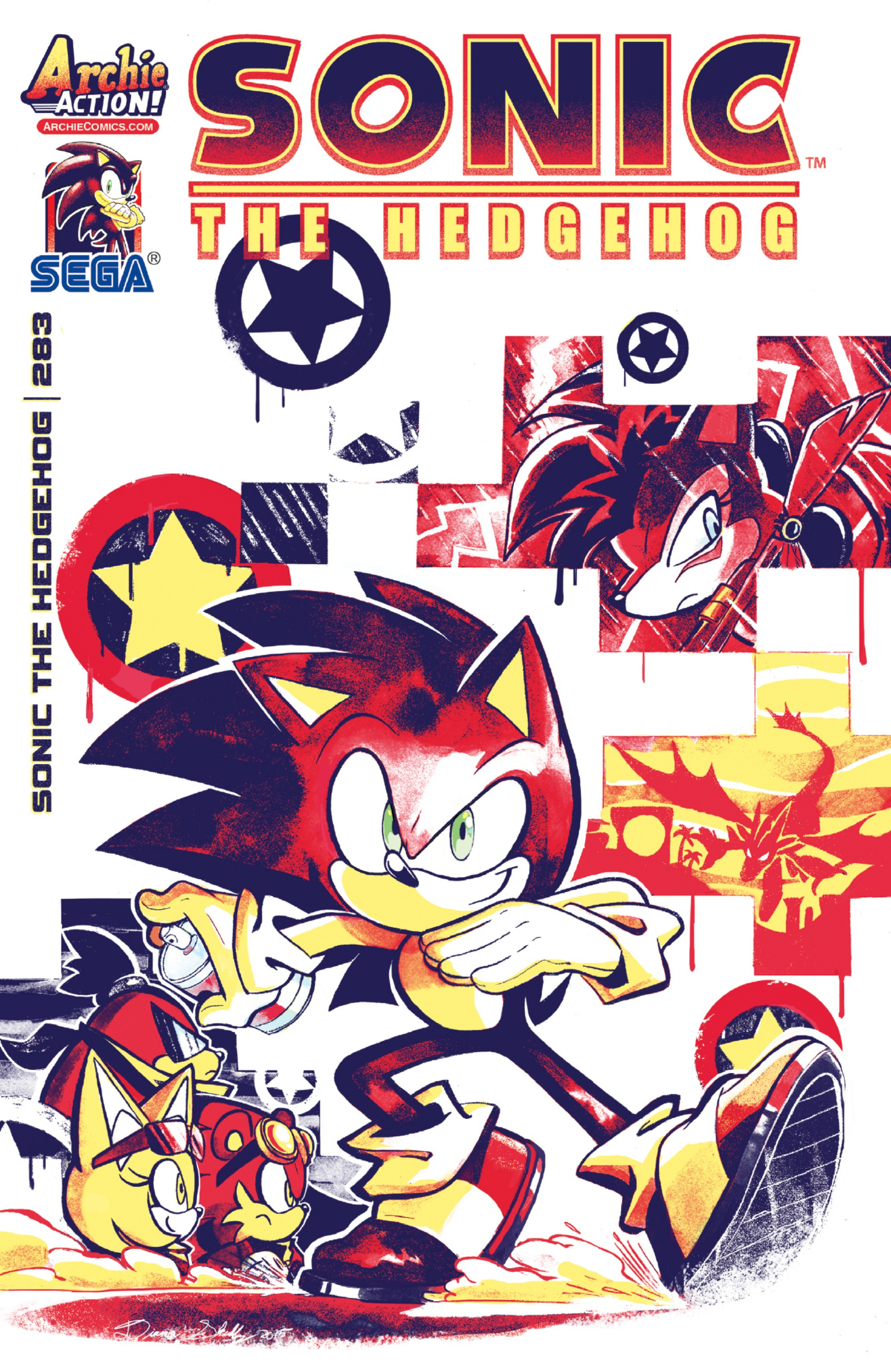 Archie Sonic the Hedgehog Issue 283