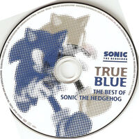 True Blue the best of Sonic the Hedgehog - disc