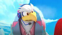 S1E15 eagle flying